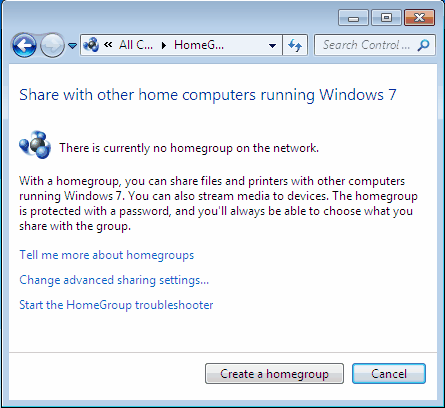 Share a folder in Windows 7